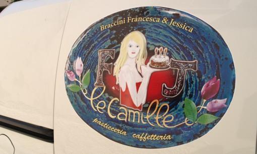 """Adesivi per auto """"Le Camille"""""""