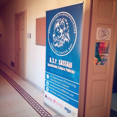 "Stampa roll-up ""Asp Sassari"""