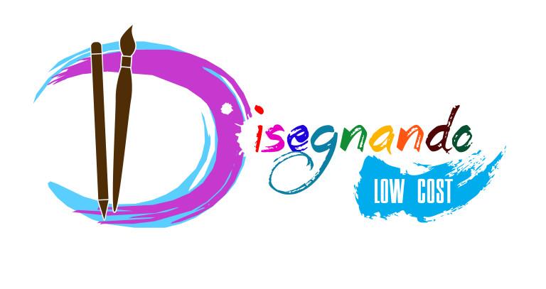 """Grafica logo """"Disegnando Lowcost"""""""