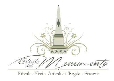 "Logo negozio ""Edicola del monumento"""