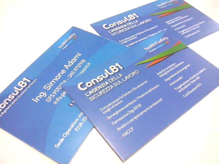 """Biglietti da visita """"Consul81"""""""