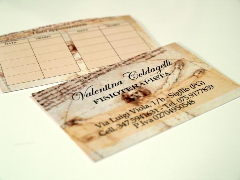 Stampa biglietti da visita